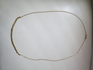 Silpada Long Brass Necklace.