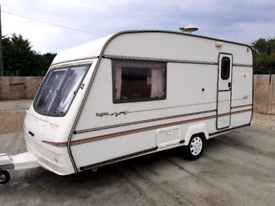 Bailey pageant cd 2 berth 1999 caravan fully equipped full size shower