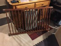 Solid Maple Crib rarely used
