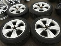 "19"" BMW alloy wheels alloys rims vw Volkswagen transporter t5 5x120 tyre tyres"