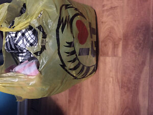Shopping bag full of Women's Size Small Clothing