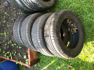 Goodyear Tires less than 8k used