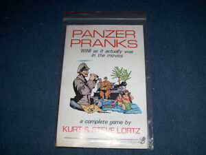 PANZER PRANKS-KURT & STEVE LORTZ-1980-THE CHAOSIUM-VINTAGE GAME!
