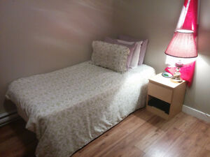 Moving Sale -- Single Bed (Mattress, Box Spring, and Frame)