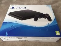 FOR SALE ... Swap , Trade a Used immaculate , 8 DAYS OLD PS4 (slim - YES! the NEW One!) ;-)x