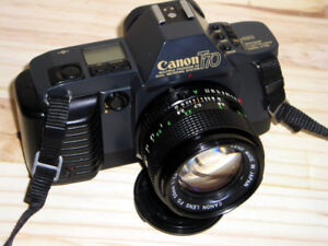 Canon T70  35mm