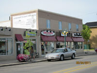 FOR LEASE: hair salon, café, medical, retail at 10996/98-124St