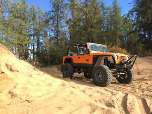 2005 Jeep LJ with 5.3 v8