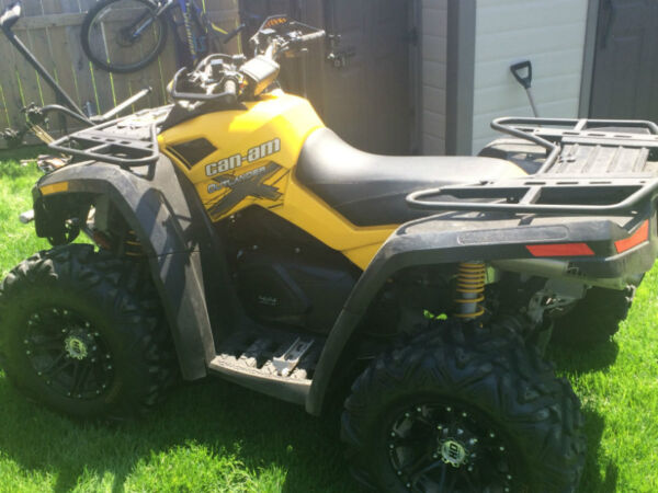 2011 Can-Am Outlander XXC 800