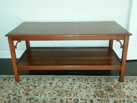 Yew Wood Coffee Table + Free Delivery