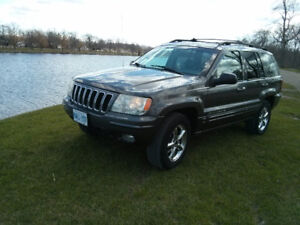 Selling my 2003 Jeep Grand Cherokee. Loaded all power everything
