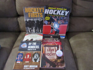 Hockey Related Books Some Not Even Read And Brand New Condition
