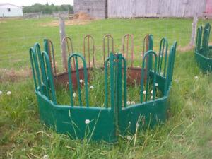 Tombstone Round Bale Hay Feeders
