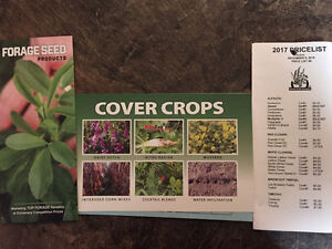Forage, Cover Crop and Silage Corn Seed