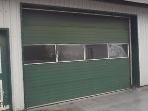 """10' X 14"""" COMMERCIAL INSULATED AUTOMATIC ROLL UP DOOR"""