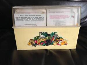 Vintage Women's Weekly Recipe Cards Stepney Norwood Area Preview