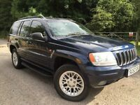 JEEP GRAND CHEROKEE 2.7 DIESEL AUTOMATIC | LOW MILEAGE | ONE YEAR MOT |