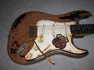 Fender Rory Gallagher Relic Stratocaster Copy