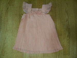 Beautiful pleated Camilla Baby Dress, 12 months