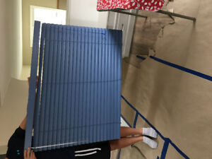 Drop in Price, blue Levolor blinds!