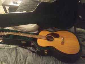 Martin ooom acoustic guitar trade for good quality drums  Cambridge Kitchener Area image 6