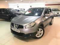 Nissan Qashqai DCI N-TEC PAN ROOF , REVERSE CAMERA ALSO INCLUDES 12 MONTHS AA