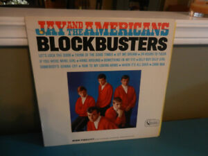 Vinyl Record Jay and the Americans Blockbusters Rock,Pop LP