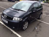 Audi a2 1.4 se. Years mot and service history