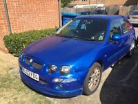 Rover mg ZR. **£250**