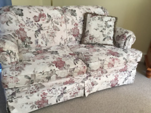 Love seat and matching chair for sale