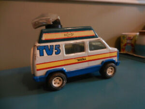 Vintage Tonka Tv 5  Van Original Good Condition