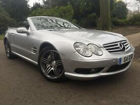 Mercedes AMG SL55 5.4 69k MILES,PANROOF,VERSION 2 AMG ALLOYS,REV CAMERA,FSH