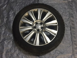 """OEM 19"""" Range Rover Evoque wheels (Style 103) with Winter Tires"""