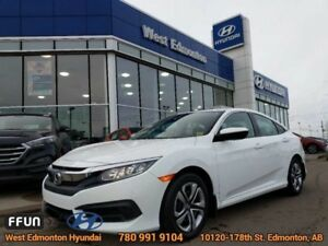 2018 Honda Civic Sedan LX  Rearview Camera-Bluetooth-Low KM-Touc