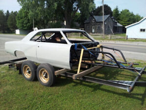 1966 chevelle tube chassis drag car pro street