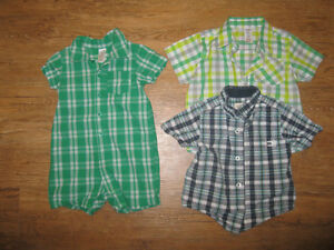 12-18M Boys' Summer Clothing