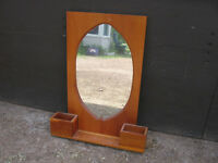 """NICE"" PINE MIRROR IN GOOD CONDITION."