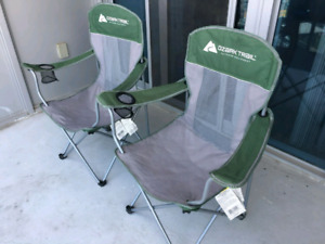 Outdoor Chairs - used only for 10 months