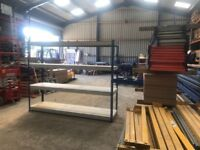 RAPID RACKING 1 WAREHOUSE WORKSHOP SHOP GARAGE SHED BAY SHELVING UNIT