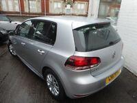 VW Golf S TDI BLUEMOTION (reflex silver) 2011