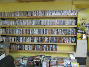 Ludicrous Amount of DVDS! New ($2) and Nearly New ($1) For Sale!
