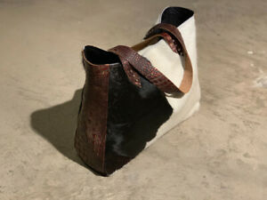 Cowhide Totes, Purses, Clutches and Duffles