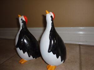 Set of 2 clay penguin figurine statue Brand new London Ontario image 8