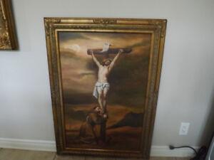 Magnifique cadre La Crucifixion Jésus de Nazareth, The crucifixi