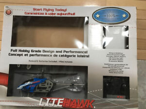 New LiteHawk R/C helicopter