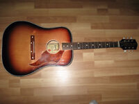 FOR SALE VERY RARE VINTAGE EGMOND ACOUSTIC GUITAR.