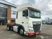DAF FTP XF106 460 *EURO 6* SUPER SPACE 6X2 TRACTOR UNIT 2016 - AY16 LZV