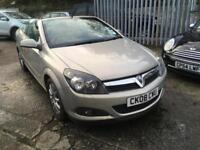 Vauxhall Astra 1.8i 2008MY Twin Top Sport CONVERTIBLE 1 PREVIOUS OWNER
