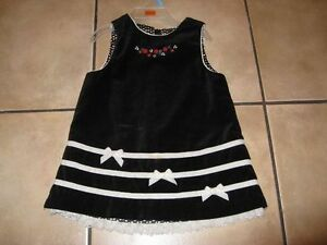 Children's Place Black Dress - Size 12 months