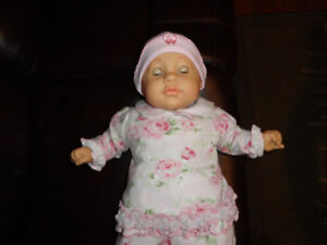 Soft Body Baby Doll - Close and Open Her Eyes